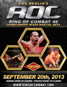 Ring of Combat 46 called best ROC ever!